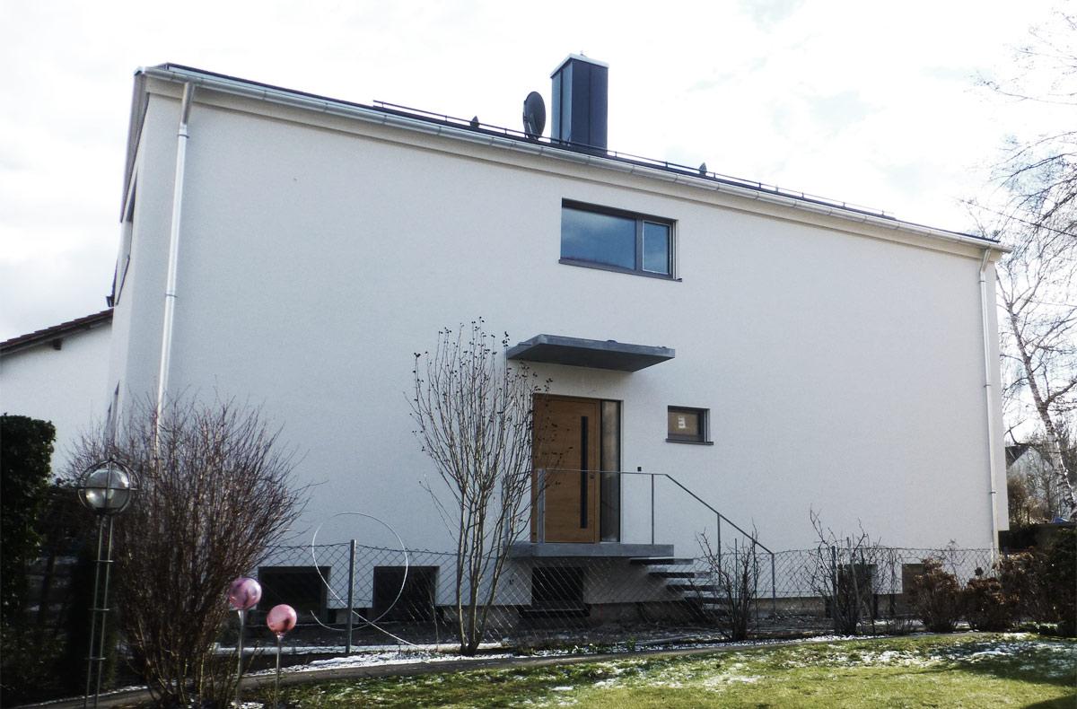 Wohnhäuser Architekt Armin Hägele Münchenn im Bestand Architekt Armin Hägele München