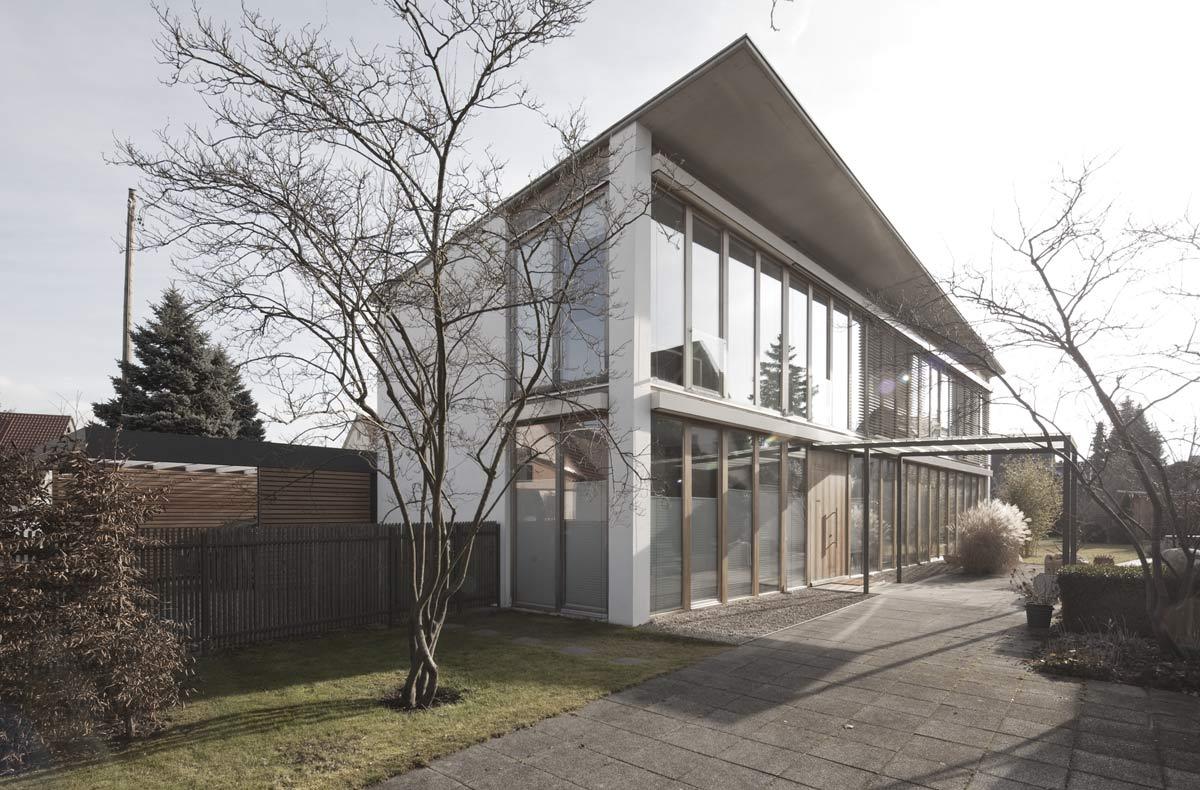 Wohnhäuser Architekt Armin Hägele Münchenn im Bestand Architekt Armin Hägele Dietersheim