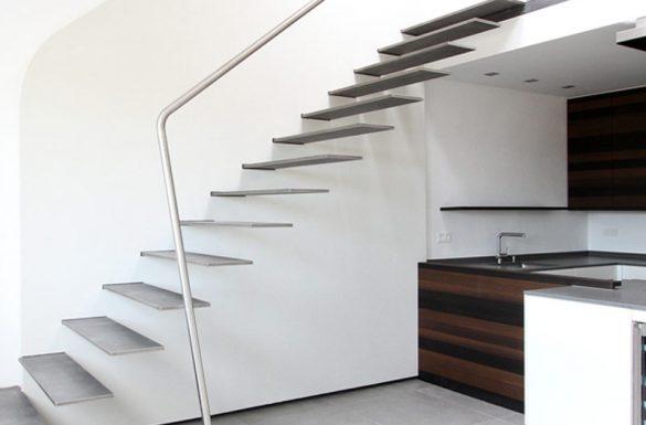 Architekt Armin Hägele Treppe Nachher