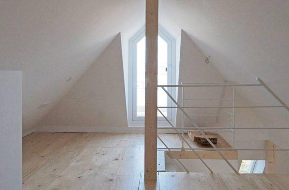 Architekt Armin Hägele Dachgeschoss Nachher
