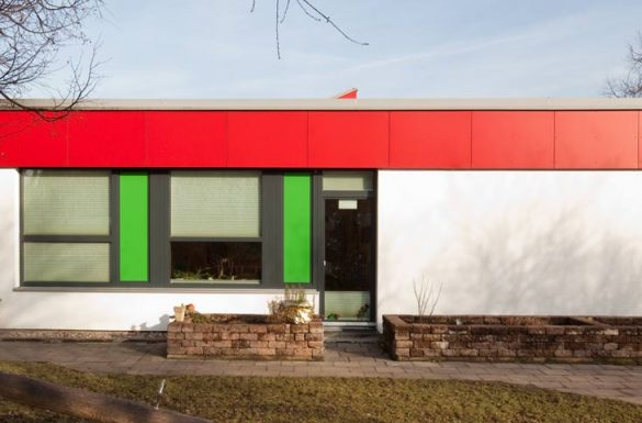 Architekt Armin Hägele Kinderhort Nachher